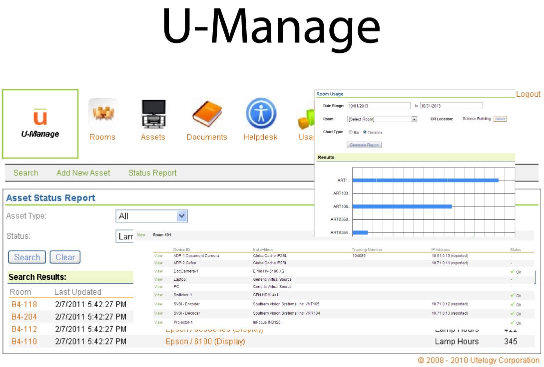 U-Manage Screen Shot