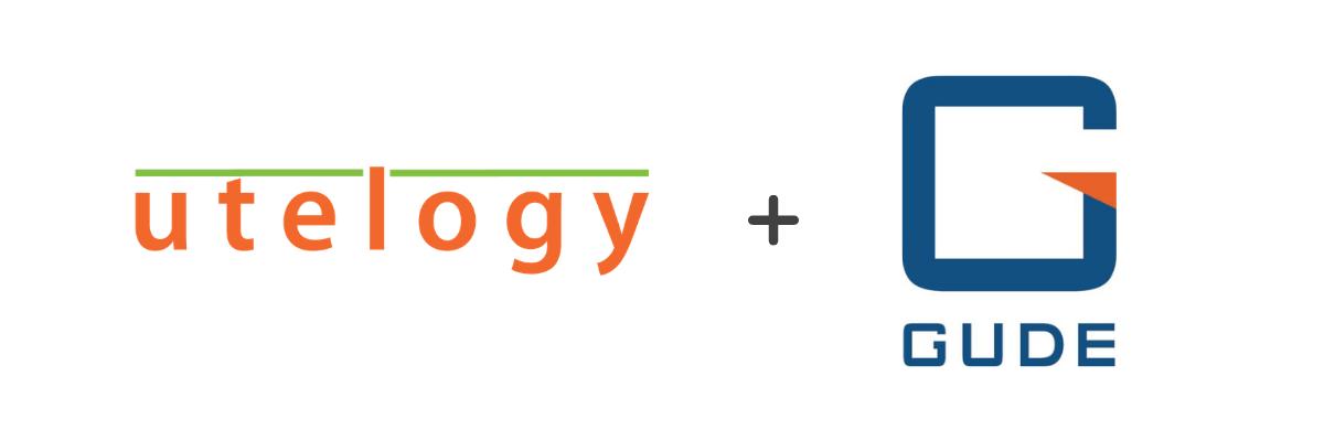 Utelogy + Gude logo Header